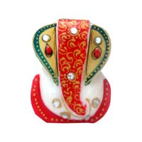 Marble Golden ear Ganesh