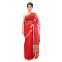 Milchak Saree, red