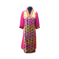 Beautiful Pink Silk Kurti