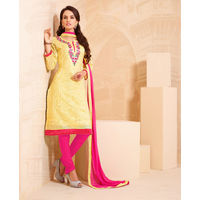Stylish Designer Chanderi Cotton Suit