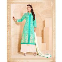 Stylish Designer Chanderi Cotton Suit