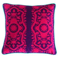 Gracious Pink Flower Cushion Cover
