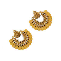 Pearl Ram Leela Earrings