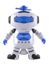 Craftcase White Naugty Dancing Robot Toy (Cp1Dancrobt2), multicolor