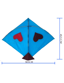 Exclusive Bareilly Designer Kites set of 32 pieces: Size 45.5* 58.5 Centimetres