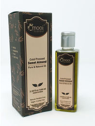 Sweet Almond Oil Cold Pressed, 100 ml
