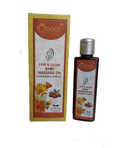 Fair & Glow Baby Massage Oil– With Almond & Calendula, 100 ml