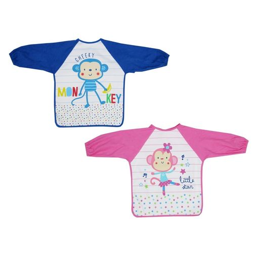 Printed Coveral With Long Sleeve, baby neutral