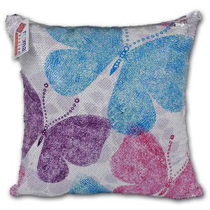reemavision - Butterfly Printing Reversible Sequin Cover Cushion, baby boy