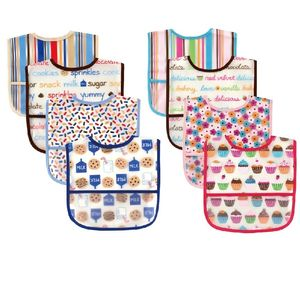 Peva Bibs 4 pk, baby neutral