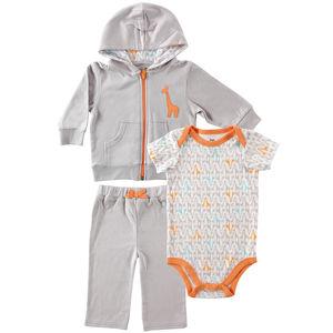 Hoodie Bodysuit & Pant Set, baby boy