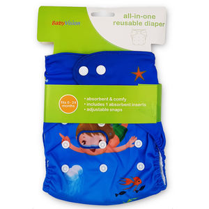 BabyVision - All In One Printed DIVIN Diaper Pack, baby boy