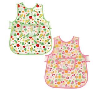 Printed Apron, baby neutral