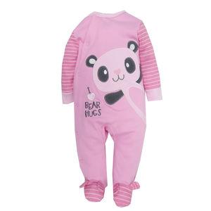 Cotton Sleepsuit, baby girl