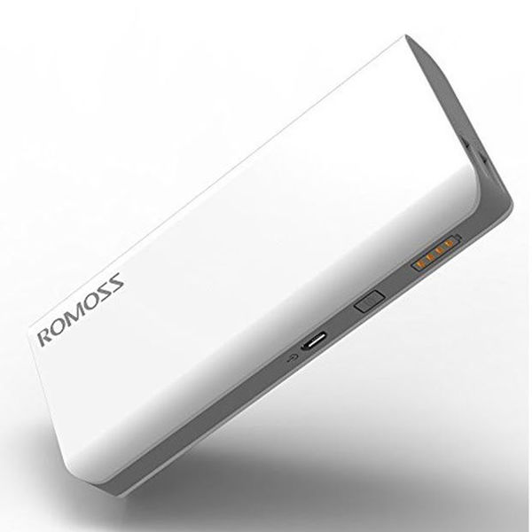 Romoss Sense 4 10400 mAh Power Bank,  white