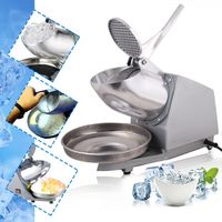 THE URBAN KITCHEN Electric Ice Crusher Shaver Snow Cone Maker Machine for Home and Commerical Use