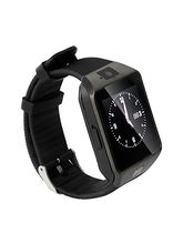 Rich Walker U8 Bluetooth Smart Wrist Watch, black