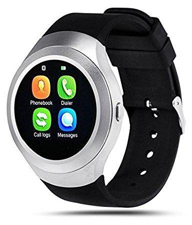 Rich Walker V8 Bluetooth Smart Wrist Watch, black