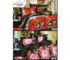 Welhouse India Lovely Multi Floral Print 2 Double Bed Sheet & 4 Pillow Covers(AZR088), multicolor