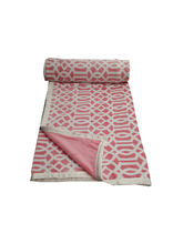 Welhouse India 100% supersoft Double blanket (AZR067), multicolor