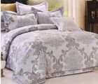 Welhouse India Damask Design Cotton King Bedsheet With two pillow cover (AZR049), multicolor