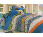 Welhouse Cotton Double Bedsheet with 2 Pillow Cover (NGL-001), multicolour