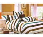 Welhouse Cotton Double Bedsheet with 2 Pillow Cover (TT-005), multicolour