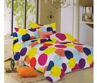 Welhouse Cotton Double Bedsheet with 2 Pillow Cover (TT-022), multicolour