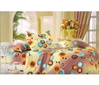 Welhouse Cotton Double Bedsheet with 2 Pillow Cover (NGL-020), multicolour