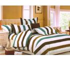 Welhouse Cotton Double Bedsheet with 2 Pillow Cover (NGL-025), multicolour