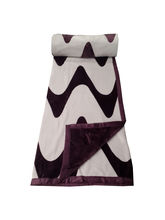 Welhouse India flano 100% supersoft Double blanket (AZR068), multicolor