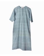 Deform Box Pleat Dress, blue, s