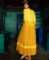 TRC Dip Dyed Sunflower Dress