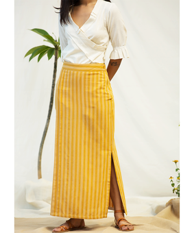 BT Pencil Skirt, yellow, s