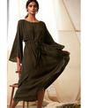 Cord Robe Dress