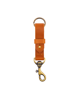 Cord Keychain, brown