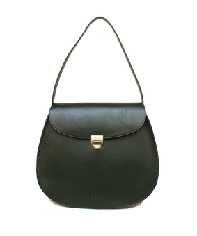 Cord Aril Tote, green