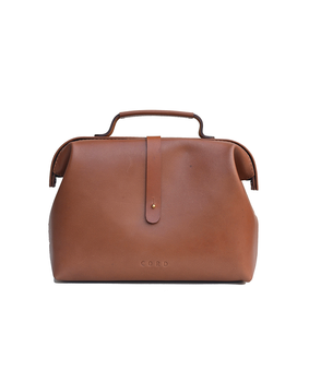 Cord Mini Doctor Bag, brown