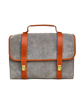 Cord Messenger Bags, grey
