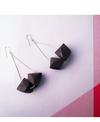 Melt Wood Earrings