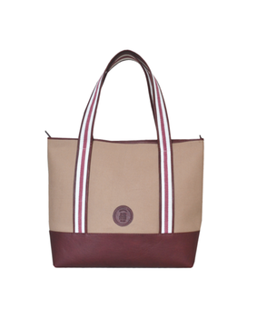 Cord Travel Tote, beige