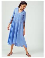Jodi Blue Maxi Dress, blue, s