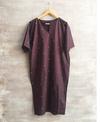 Three Front Slit Dress