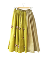 Twofold Lime Skirt