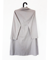 DOM Cross Lapel Dress