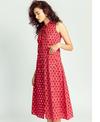Jodi Lattice Safari Dress