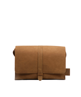 Brandless Postman Bag, brown