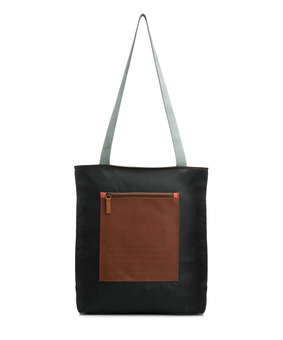 Kassa Pocket Tote, brown