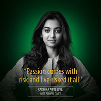 Signature Start Up Master Class Season 2– Radhika Apte, Pune 15 November 2017 at 7PM