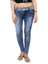 Carrel Casual Denim Women Jeans, 30, blue